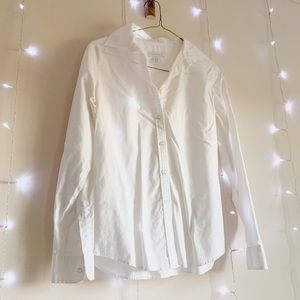 Charter Club White Button Down Dress Shirt Basics